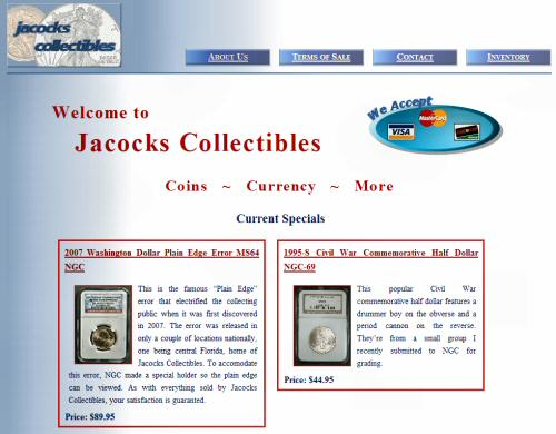 jacockscollectibles.com